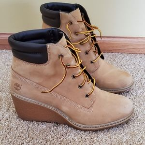 Timberland Wedge Booties